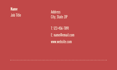 Picture of House & Home Business Card 1
