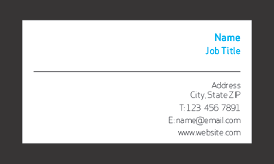 Picture of Technology Business Card 1