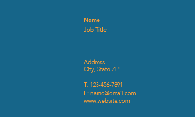 Picture of Recruitment Business Card 4