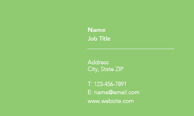Picture of Services Business Card 2