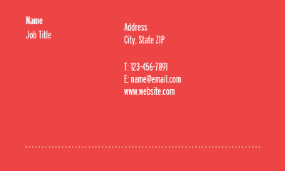 Picture of Healthcare Business Card 4