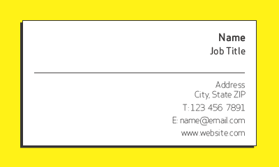 Picture of Services Business Card 4