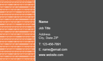 Picture of Technology Business Card 3