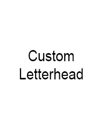 Picture of Custom Letterhead