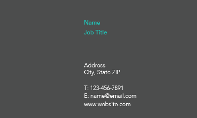 Picture of Insurance Business Card 8