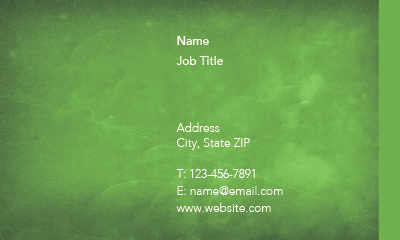 Picture of Horticulture Business Card 1