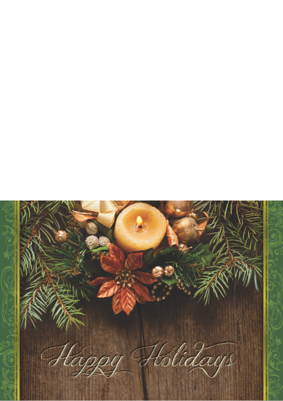 Picture of Holiday Card Wood