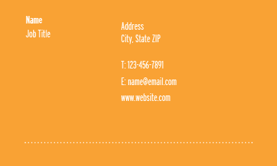 Picture of Retail Business Card 3