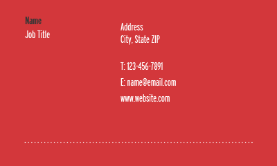 Picture of Fitness Business Card 2