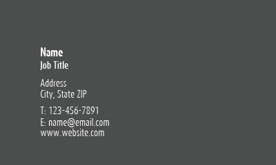 Picture of Recruitment Business Card 3