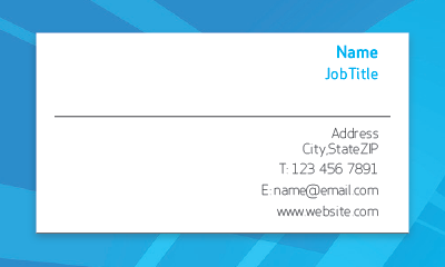 Picture of Business Services Business Card 2