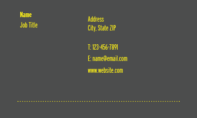 Picture of Financial Business Card 3