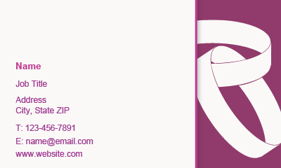 Picture of Wedding Services Business Card 1