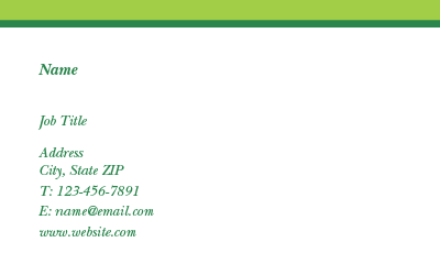 Picture of Environment Business Card 3