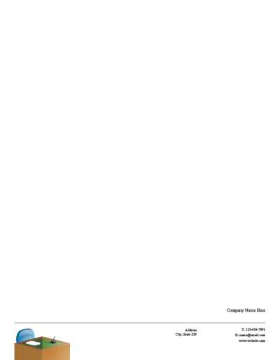 Picture of Business Services Letterhead 1