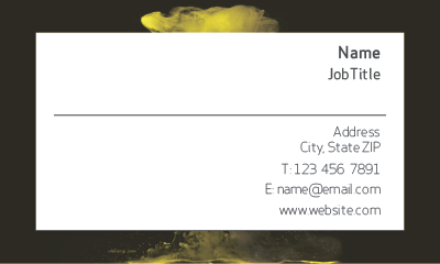 Picture of Creative Business Card 1