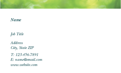 Picture of Agriculture Business Card 3