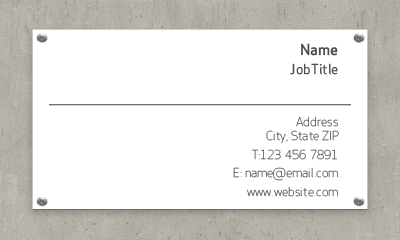 Picture of Construction & Trade Business Card 1