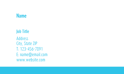 Picture of For Everyone Business Card 2