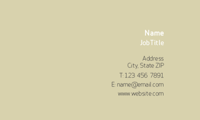 Picture of Business Services Business Card 1